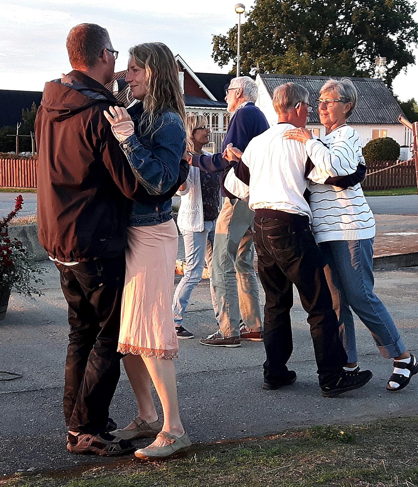 Sommarfesten med uppemot 60-talet deltagare…