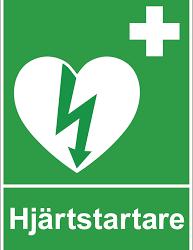 Hjärtstartare med utbildning